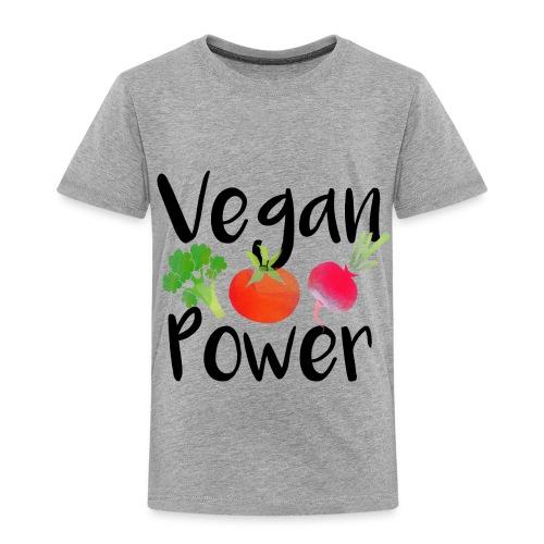 Vegan Power Baby Gift - Toddler Premium T-Shirt