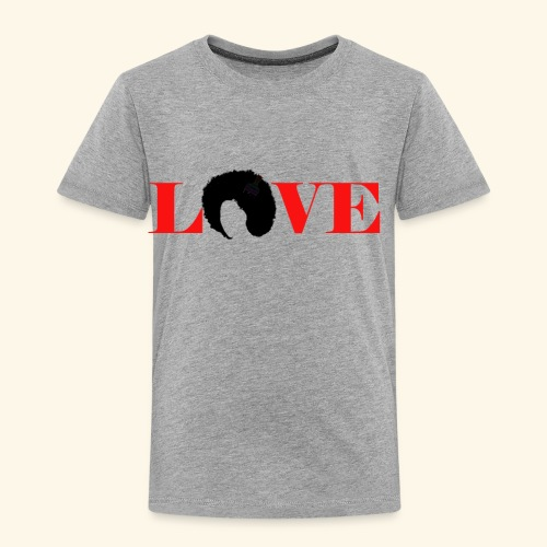 Love natural tee - Toddler Premium T-Shirt