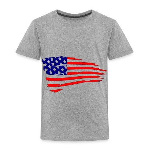 USFlagRed Blue - Toddler Premium T-Shirt