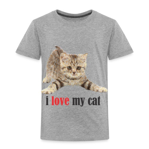 lovecat - Toddler Premium T-Shirt