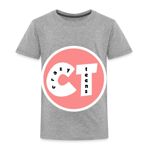 Crazy Teens Logo - Toddler Premium T-Shirt