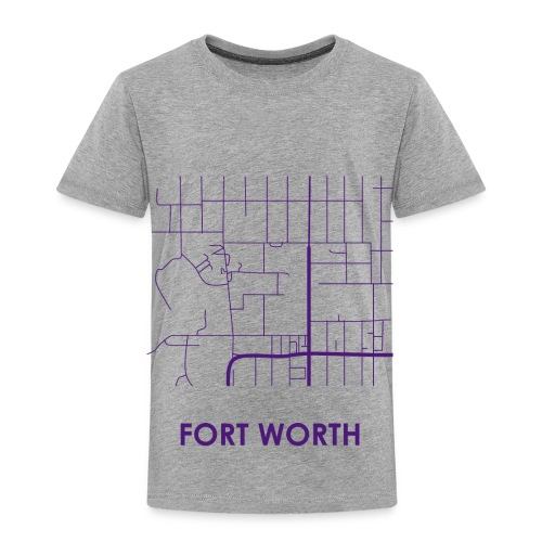 Fort Worth Streets - Toddler Premium T-Shirt