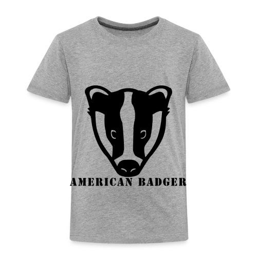 American Badger - Toddler Premium T-Shirt