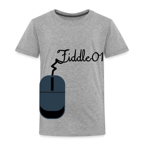 Fiddle01 Mouse Design - Toddler Premium T-Shirt