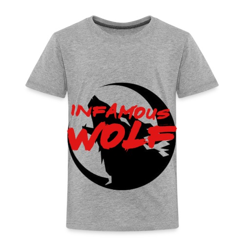 Infamous Wolf shirt(kid) - Toddler Premium T-Shirt