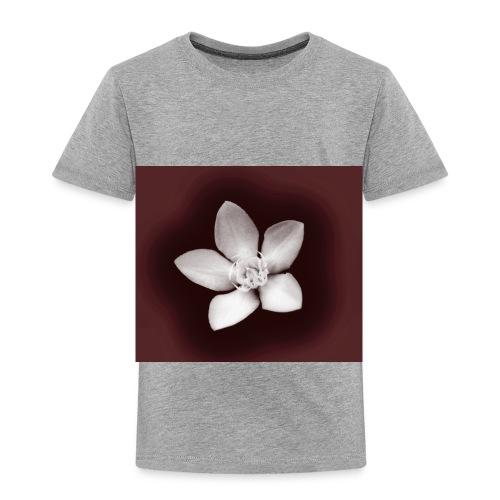 Beautiful Flower Design - Toddler Premium T-Shirt