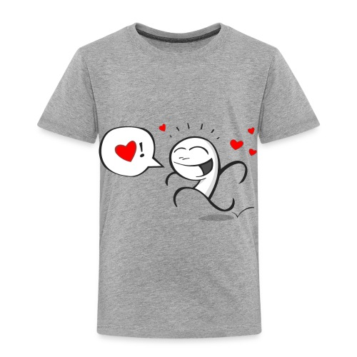Wherever you go, go with all your heart - Toddler Premium T-Shirt