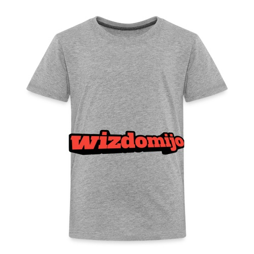 Wizdomijo big sighn - Toddler Premium T-Shirt
