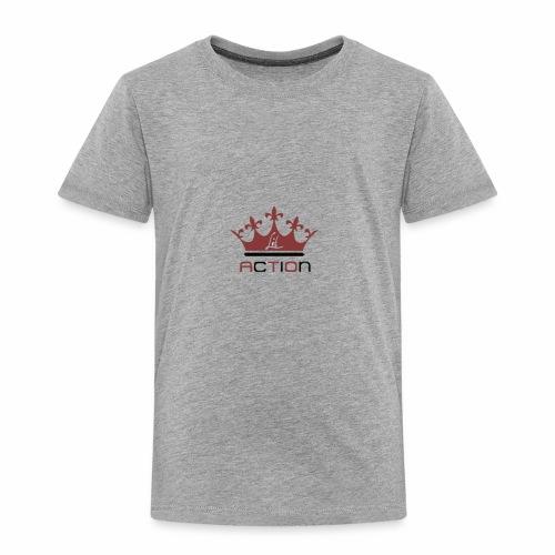 Lit Action Red Crown - Toddler Premium T-Shirt