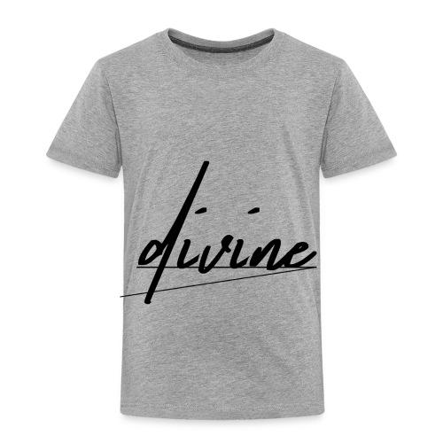 DIVINE_CURSIVE_LINES - Toddler Premium T-Shirt