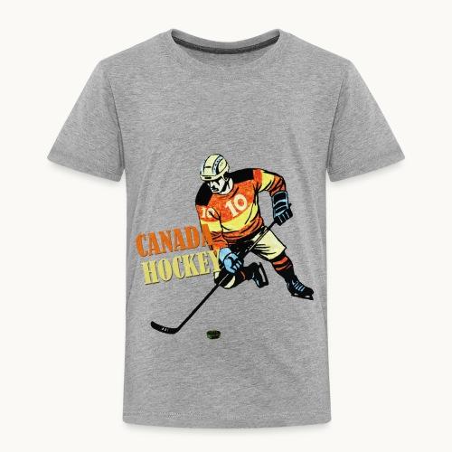 CANADA HOCKEY Carolyn Sandstrom THREADLESS - Toddler Premium T-Shirt