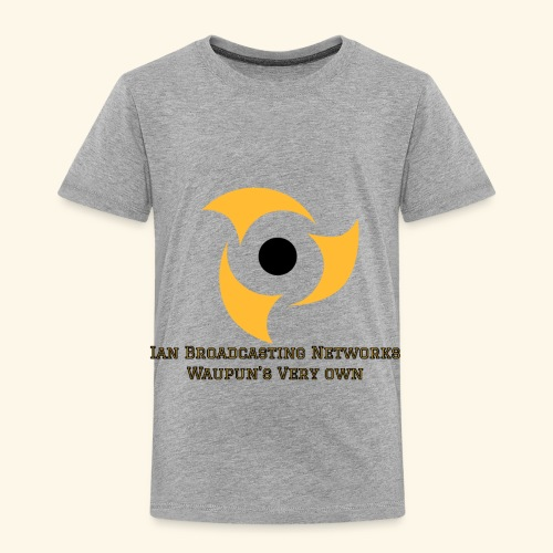 Official Grey Color Apparel Waupun's Very Own IBN - Toddler Premium T-Shirt