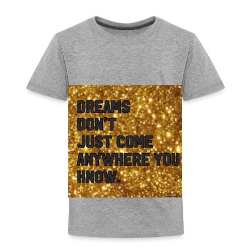 dreamy designs - Toddler Premium T-Shirt