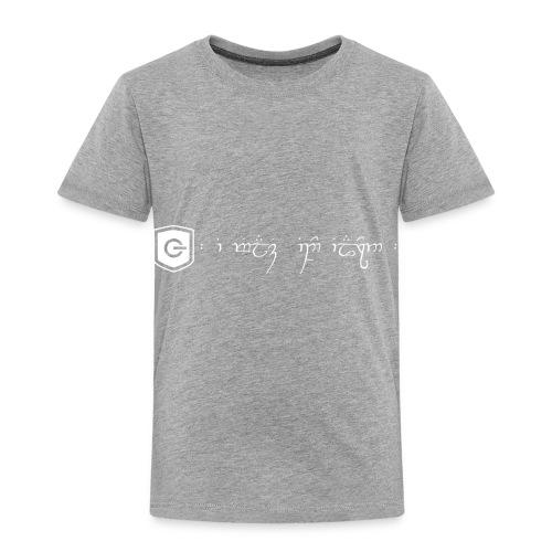 The Loving Heart of an Elf - Toddler Premium T-Shirt
