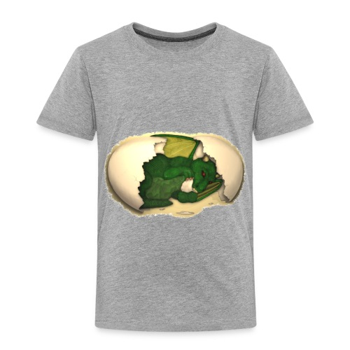 The Emerald Dragon of Nital - Toddler Premium T-Shirt