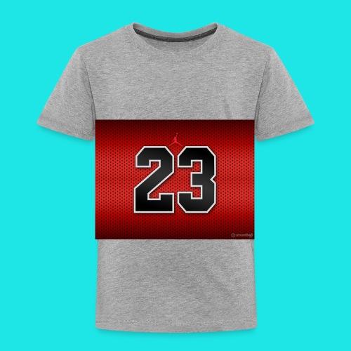 Jordan_Bulls_Jersey - Toddler Premium T-Shirt