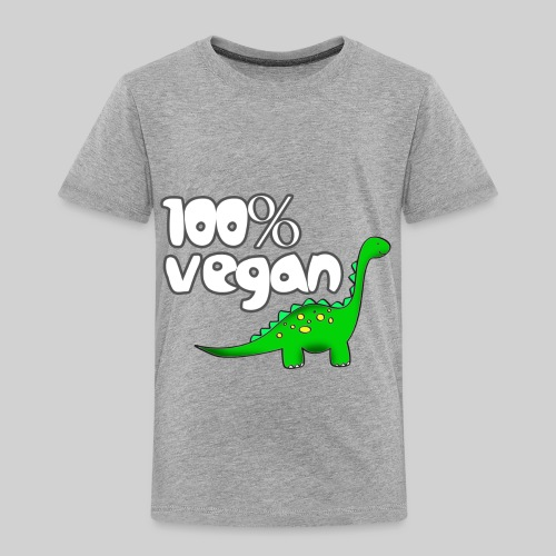 DINO VEGAN - Toddler Premium T-Shirt