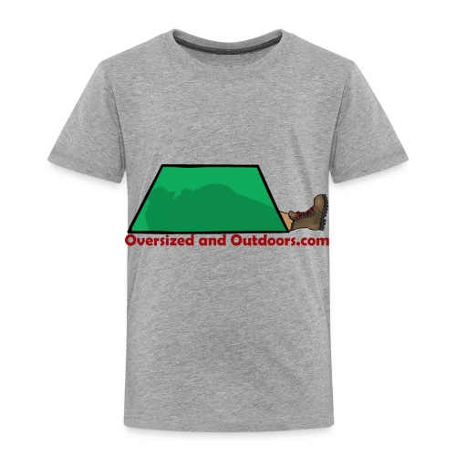 Oversized and Outdoors Logo - Toddler Premium T-Shirt
