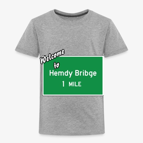 HEMDY BRIBGE Indian Trail Shirt - Toddler Premium T-Shirt