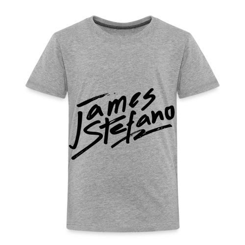 James Stefano 2017 Merchandise Black Logo - Toddler Premium T-Shirt