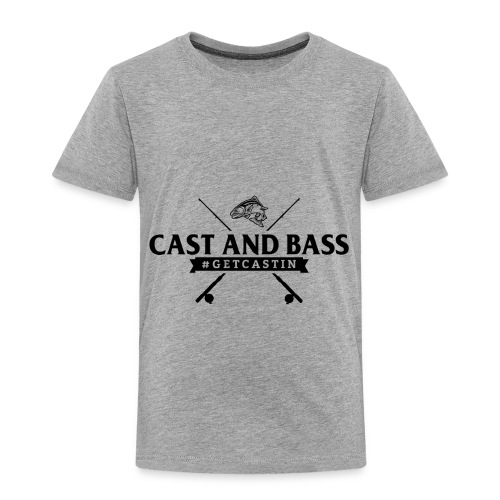 Cast and Bass - Toddler Premium T-Shirt