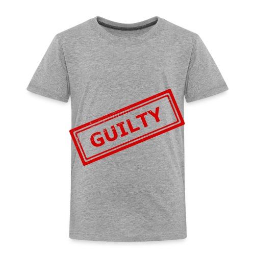 GUILTY STAMP - Toddler Premium T-Shirt