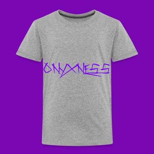 OnyxNess (Purple) - Toddler Premium T-Shirt