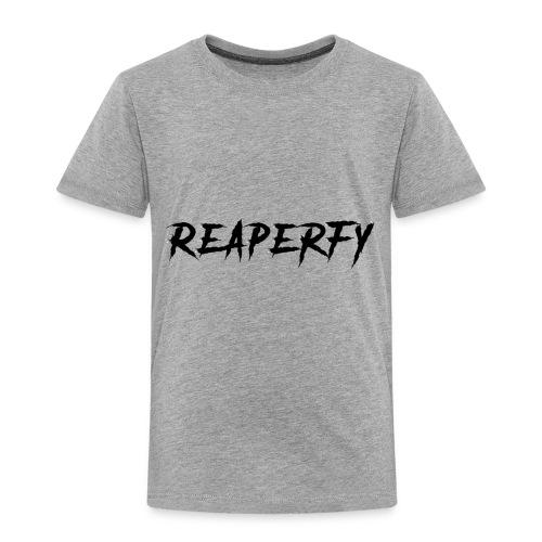 Reaperfy Transparent Logo Black - Toddler Premium T-Shirt