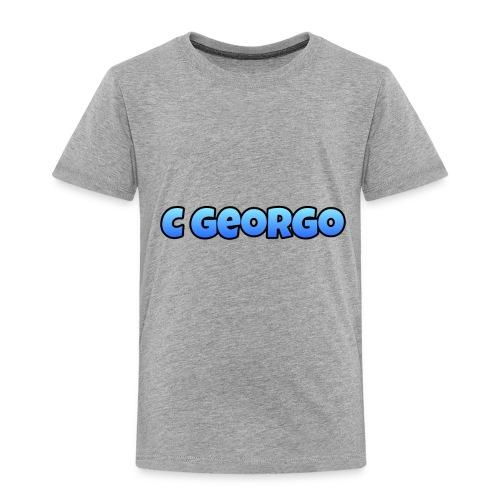 C Georgo Co - Toddler Premium T-Shirt