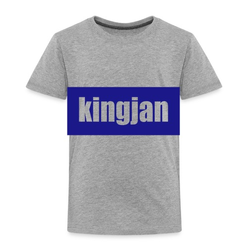 kingjan merch logo - Toddler Premium T-Shirt