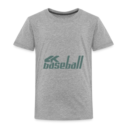 4kBaseball Logo - Toddler Premium T-Shirt