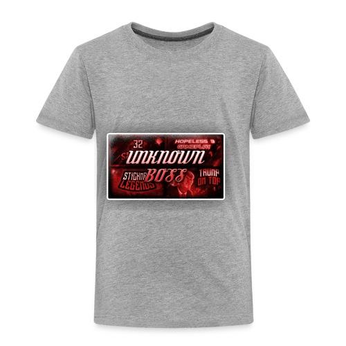 unknownboss - Toddler Premium T-Shirt