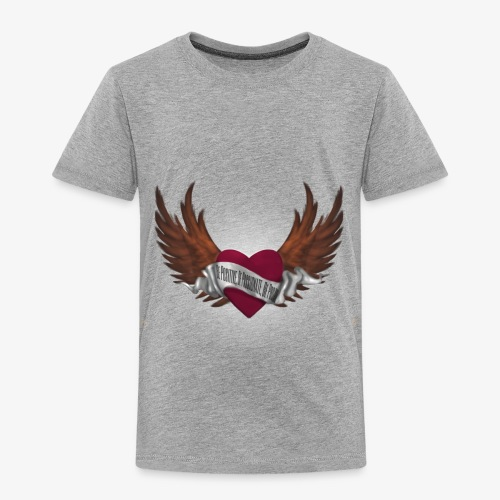 Never again memorial heart - Toddler Premium T-Shirt