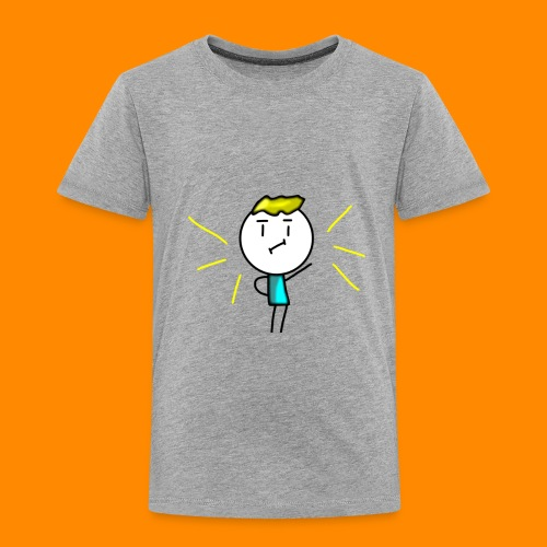 V-neck and more (Amazing Man) - Toddler Premium T-Shirt