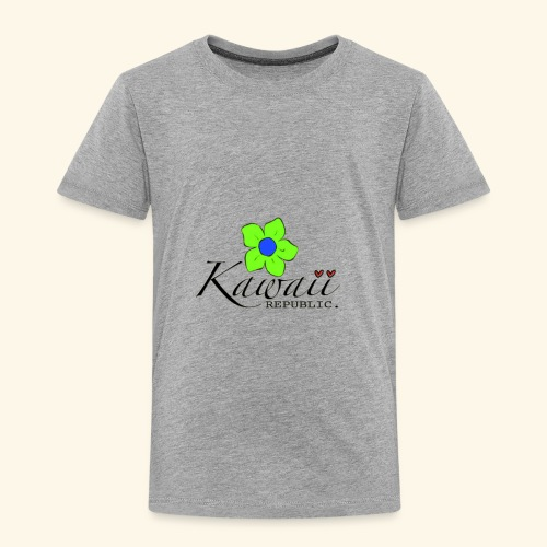 Welcome Spring with Kawaii Republic - Toddler Premium T-Shirt