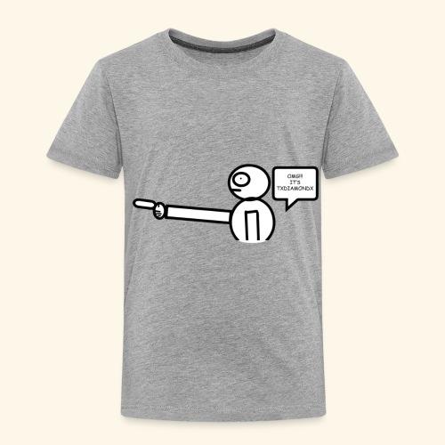 OMG its txdiamondx - Toddler Premium T-Shirt