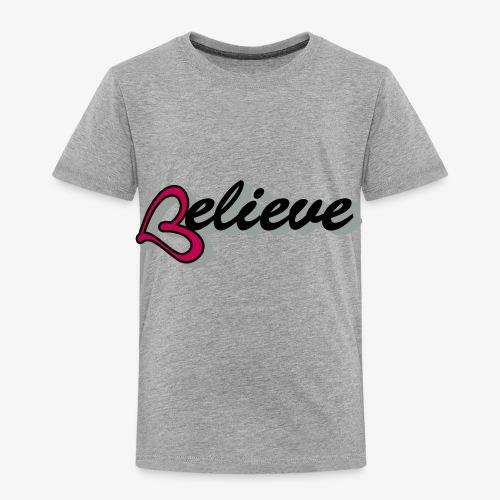 believeheart - Toddler Premium T-Shirt