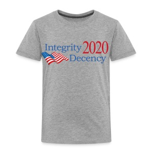 Vote for real American values! - Toddler Premium T-Shirt