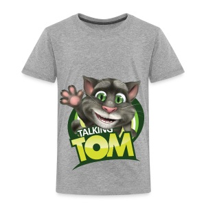 Talking_TOM_wave_preview_lowRes - Toddler Premium T-Shirt