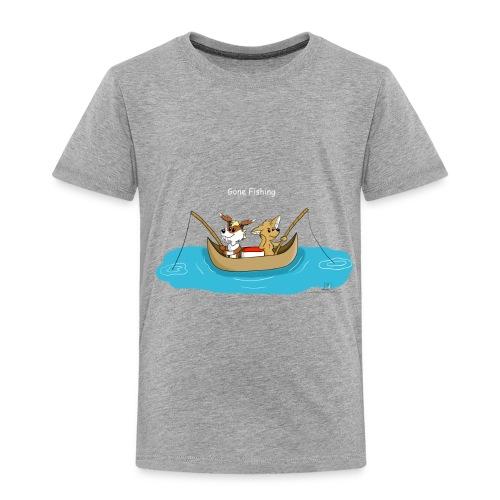 Gone Fishing - Toddler Premium T-Shirt