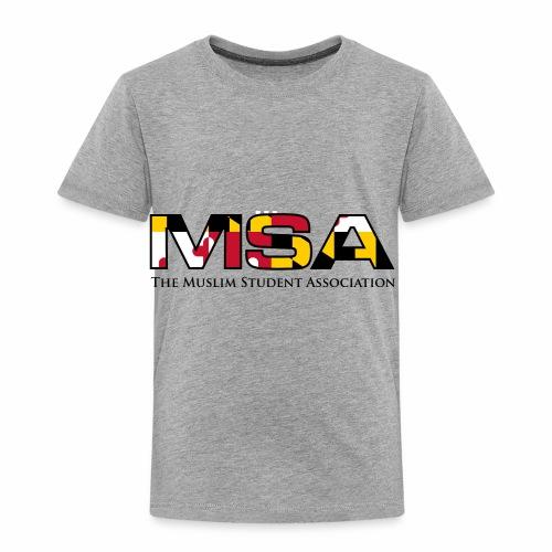 Maryland Flag MSA Logo - Toddler Premium T-Shirt