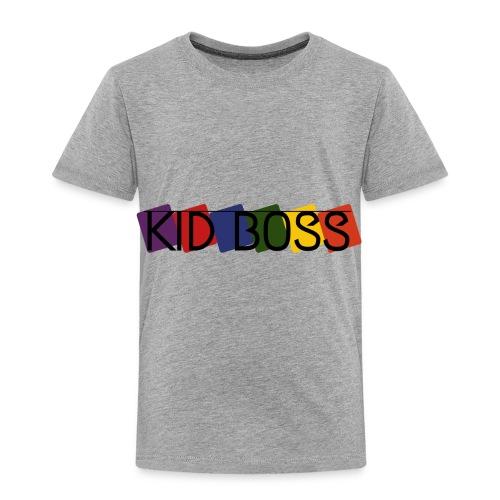 Kid Boss - Toddler Premium T-Shirt
