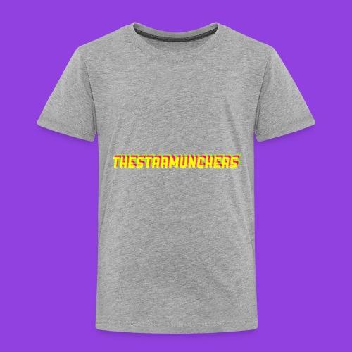 TheStarMunchers Logo - Toddler Premium T-Shirt