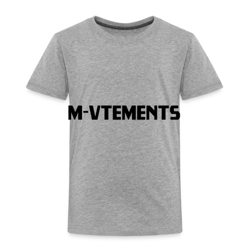 M-VTEMENTS T-SHIRT LOGO - Toddler Premium T-Shirt