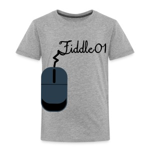 Fiddle01 Mouse Design - Toddler Premium T-Shirt