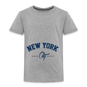 New York City Shirt - Toddler Premium T-Shirt