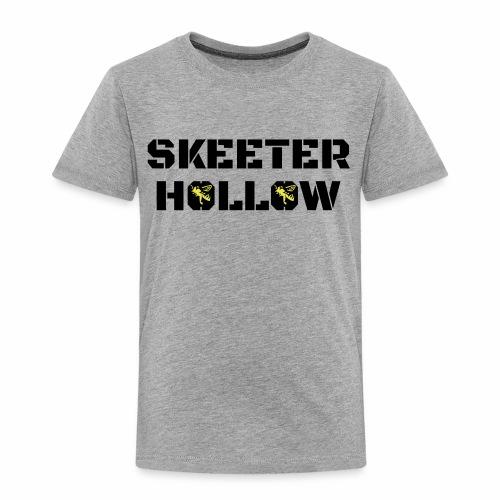 Skeeter Hollow honeybees - Toddler Premium T-Shirt