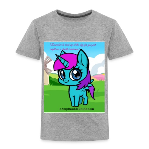 Cute rainboom - Toddler Premium T-Shirt