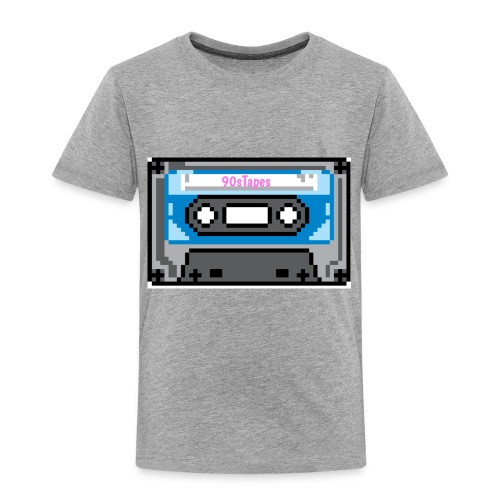 90s Tapes Brand Logo - Toddler Premium T-Shirt