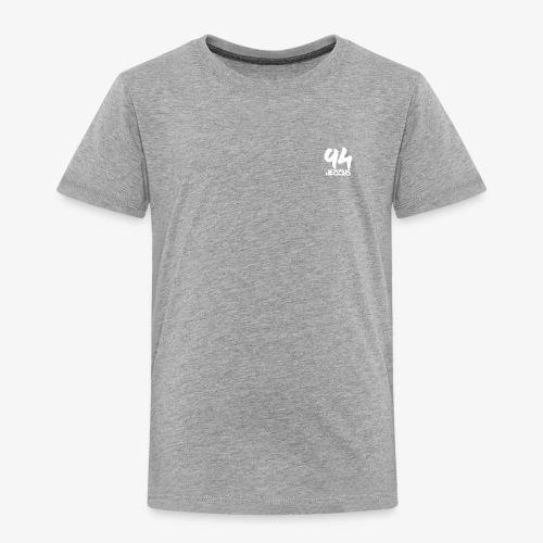 94 jezzus white logo - Toddler Premium T-Shirt